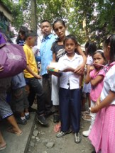 Children Receiving Supplies (3)