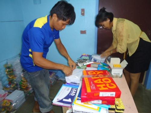 School Supplies Preparation