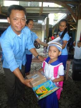Receiving School Supplies (2)