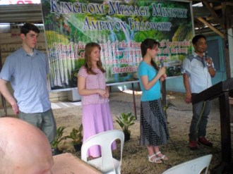 Youth Testimony at Ampayon1