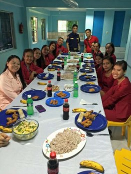 Lunch with Staff